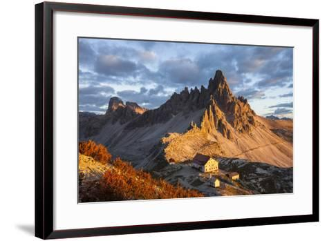 Europe, Italy, South Tyrol, the Dolomites, Paternkofel, Dreizinnenh?tte-Gerhard Wild-Framed Art Print