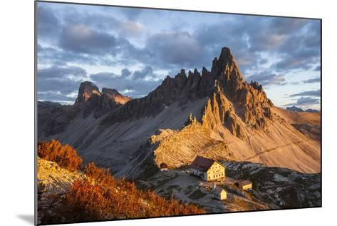 Europe, Italy, South Tyrol, the Dolomites, Paternkofel, Dreizinnenh?tte-Gerhard Wild-Mounted Photographic Print