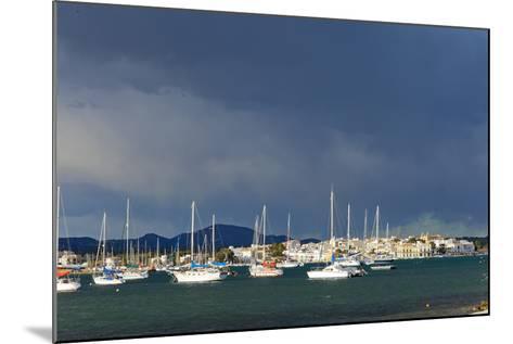 Europe, Spain, Majorca, Fishing Village Porto Colom, Harbour-Chris Seba-Mounted Photographic Print