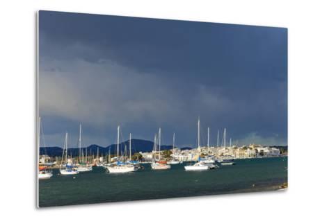 Europe, Spain, Majorca, Fishing Village Porto Colom, Harbour-Chris Seba-Metal Print