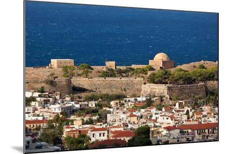 Greece, Crete, Rethimnon, Fortezza, Distant View-Catharina Lux-Mounted Photographic Print