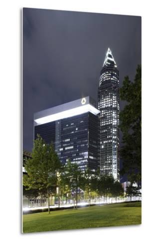 Messeturm, Messe Frankfurt, District Gallus, European District, Frankfurt on the Main-Axel Schmies-Metal Print