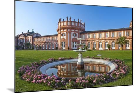Europe, Germany, Hesse, Wiesbaden, Schloss Biberach on the Bank of the Rhine-Chris Seba-Mounted Photographic Print