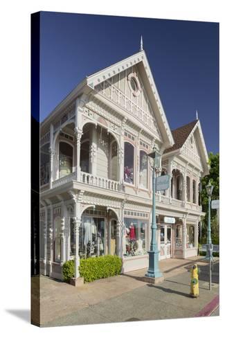 House in Sausalito, Richardson Bay, San Francisco, California, Usa-Rainer Mirau-Stretched Canvas Print