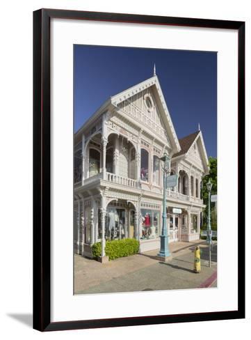 House in Sausalito, Richardson Bay, San Francisco, California, Usa-Rainer Mirau-Framed Art Print