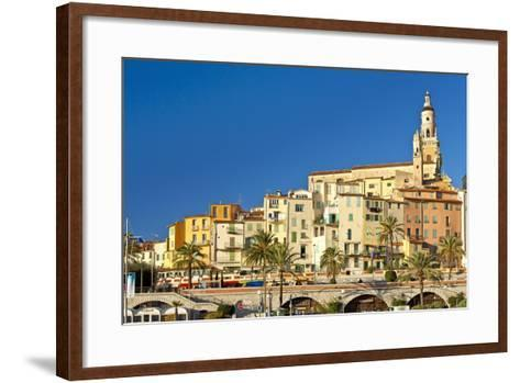 France, Cote D'Azur, Menton-Chris Seba-Framed Art Print