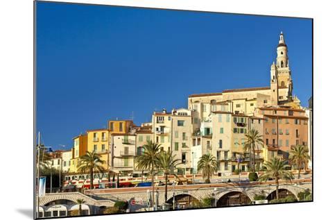 France, Cote D'Azur, Menton-Chris Seba-Mounted Photographic Print
