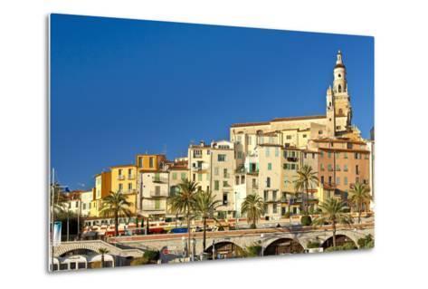France, Cote D'Azur, Menton-Chris Seba-Metal Print