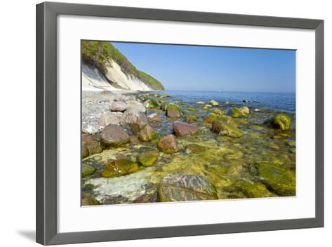 Europe, Germany, Mecklenburg-Western Pomerania, Baltic Sea Island R?gen, Chalk Cliffs-Chris Seba-Framed Art Print