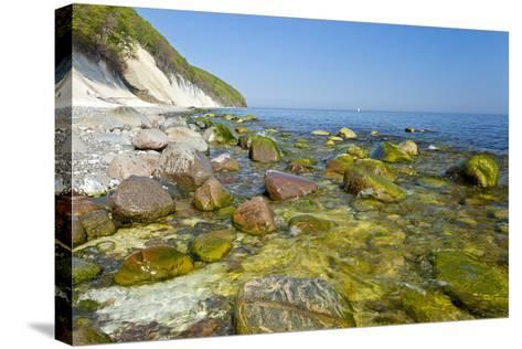 Europe, Germany, Mecklenburg-Western Pomerania, Baltic Sea Island R?gen, Chalk Cliffs-Chris Seba-Stretched Canvas Print
