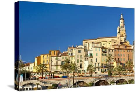 France, Cote D'Azur, Menton-Chris Seba-Stretched Canvas Print
