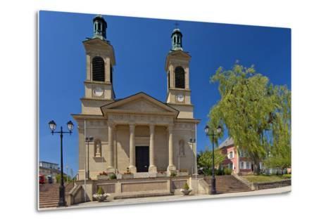 Luxembourg, City of Mersch, Church, 19th Century, Neoclassicism-Chris Seba-Metal Print