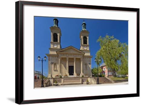 Luxembourg, City of Mersch, Church, 19th Century, Neoclassicism-Chris Seba-Framed Art Print