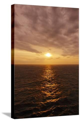 Sunset on the Open Seas-Axel Schmies-Stretched Canvas Print
