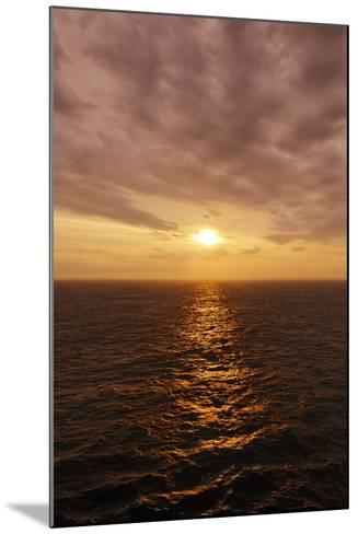 Sunset on the Open Seas-Axel Schmies-Mounted Photographic Print
