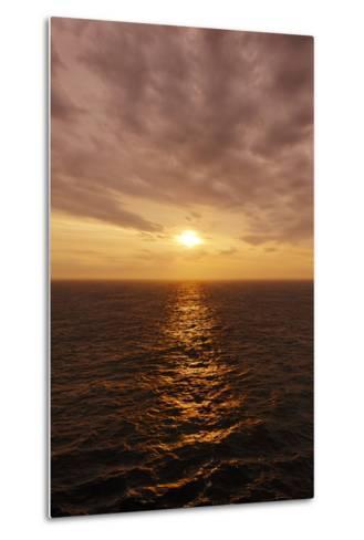 Sunset on the Open Seas-Axel Schmies-Metal Print
