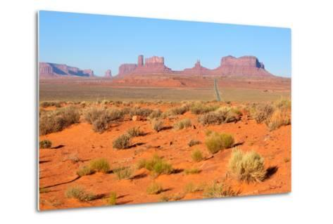 USA, Monument Valley-Catharina Lux-Metal Print