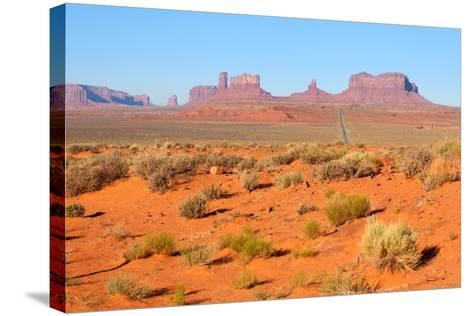 USA, Monument Valley-Catharina Lux-Stretched Canvas Print