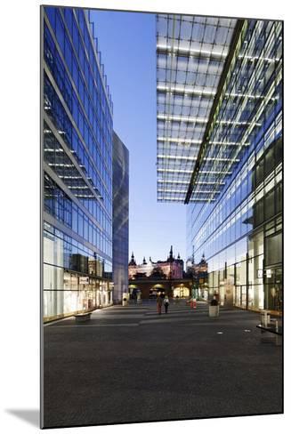 Architecture, Neues Kranzler Eck, KurfŸrstendamm, Kudamm, City-West-Axel Schmies-Mounted Photographic Print