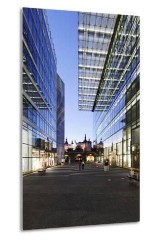 Architecture, Neues Kranzler Eck, KurfŸrstendamm, Kudamm, City-West-Axel Schmies-Metal Print