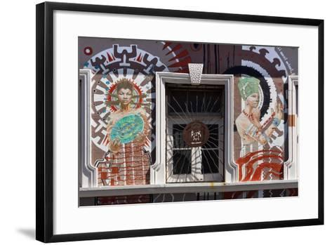 South Africa, Cape Town, Facade-Catharina Lux-Framed Art Print