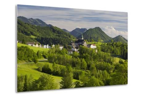 Maria Neustift, Foothills of the Alps, Upper Austria, Austria-Rainer Mirau-Metal Print
