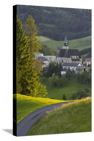 Maria Neustift, Foothills of the Alps, Upper Austria, Austria-Rainer Mirau-Stretched Canvas Print