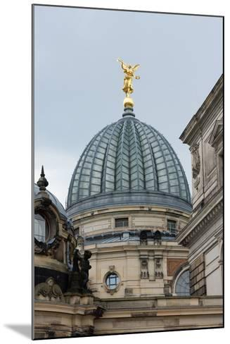 Dresden, Academy of Arts with Arts Centre-Catharina Lux-Mounted Photographic Print