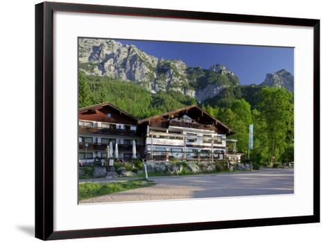 Sea Hermitage Hintersee, Berchtesgadener Land District, Bavaria, Germany-Rainer Mirau-Framed Art Print