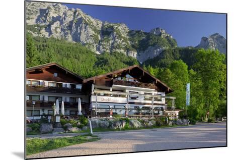 Sea Hermitage Hintersee, Berchtesgadener Land District, Bavaria, Germany-Rainer Mirau-Mounted Photographic Print