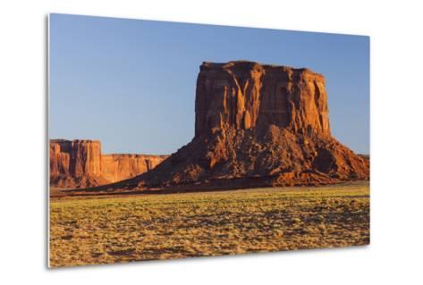 Monument Valley, Navajo Tribal Park, Arizona, Usa-Rainer Mirau-Metal Print