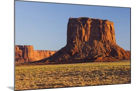Monument Valley, Navajo Tribal Park, Arizona, Usa-Rainer Mirau-Mounted Photographic Print