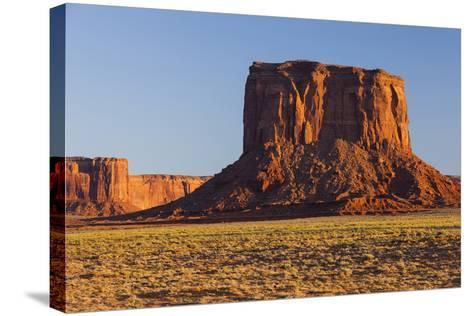Monument Valley, Navajo Tribal Park, Arizona, Usa-Rainer Mirau-Stretched Canvas Print