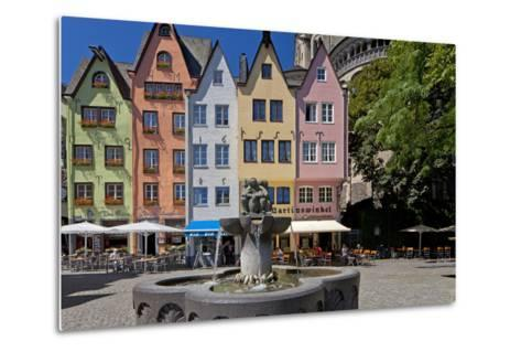 Europe, Germany, North Rhine-Westphalia, Cologne, Old Town-Chris Seba-Metal Print