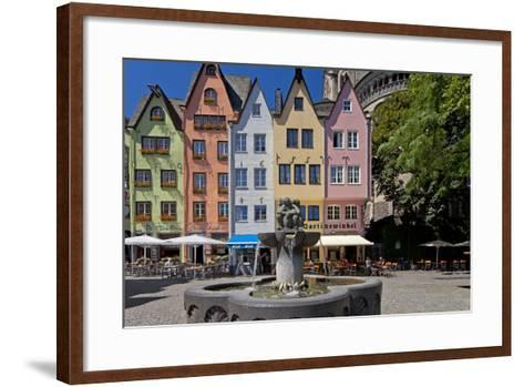 Europe, Germany, North Rhine-Westphalia, Cologne, Old Town-Chris Seba-Framed Art Print