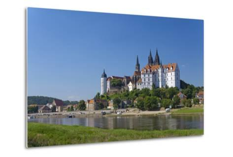 Europe, Germany, Saxony, the Elbe River, Meissen-Chris Seba-Metal Print