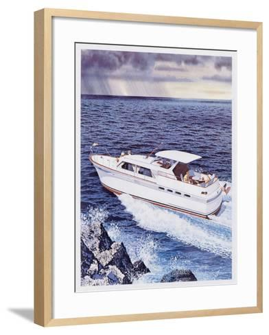 Chris-Craft Roamer Riviera--Framed Art Print