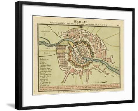 Berlin- the Captal of the Electorate of Brandenburg, Germany 180- Luffman-Framed Art Print
