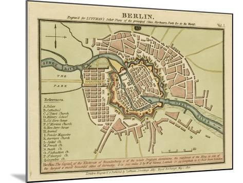 Berlin- the Captal of the Electorate of Brandenburg, Germany 180- Luffman-Mounted Giclee Print