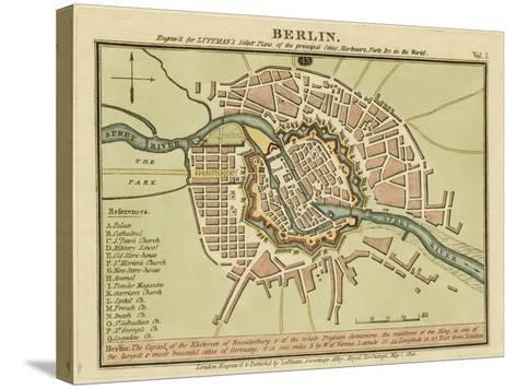 Berlin- the Captal of the Electorate of Brandenburg, Germany 180- Luffman-Stretched Canvas Print