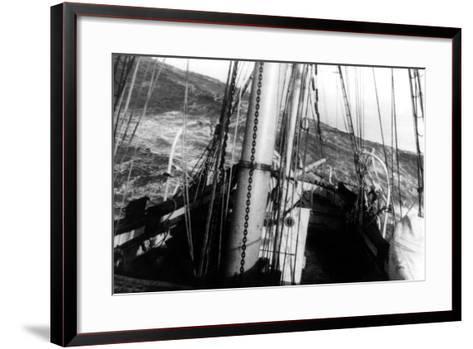 A Cape Horn Sea--Framed Art Print