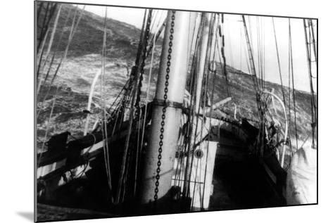 A Cape Horn Sea--Mounted Photographic Print