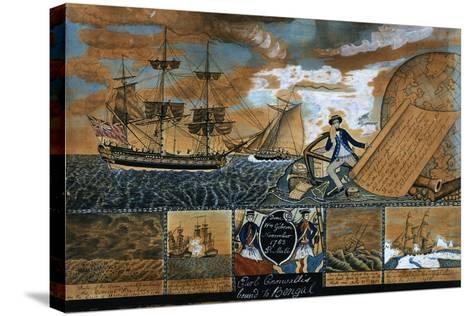 Earl of Cornwallis Bound to Benal, 1783-William Gibson-Stretched Canvas Print