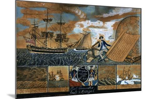 Earl of Cornwallis Bound to Benal, 1783-William Gibson-Mounted Giclee Print
