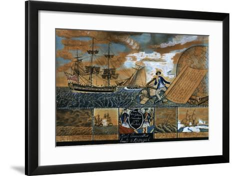 Earl of Cornwallis Bound to Benal, 1783-William Gibson-Framed Art Print
