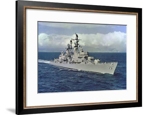 10 - USS King (DLG-10)--Framed Art Print