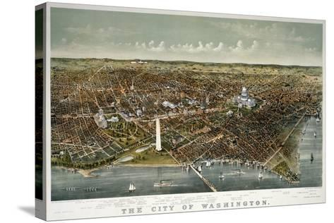 The City of Washington--Stretched Canvas Print