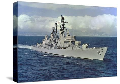 10 - USS King (DLG-10)--Stretched Canvas Print