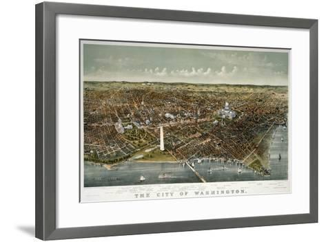 The City of Washington--Framed Art Print