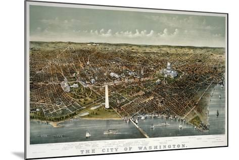 The City of Washington--Mounted Giclee Print